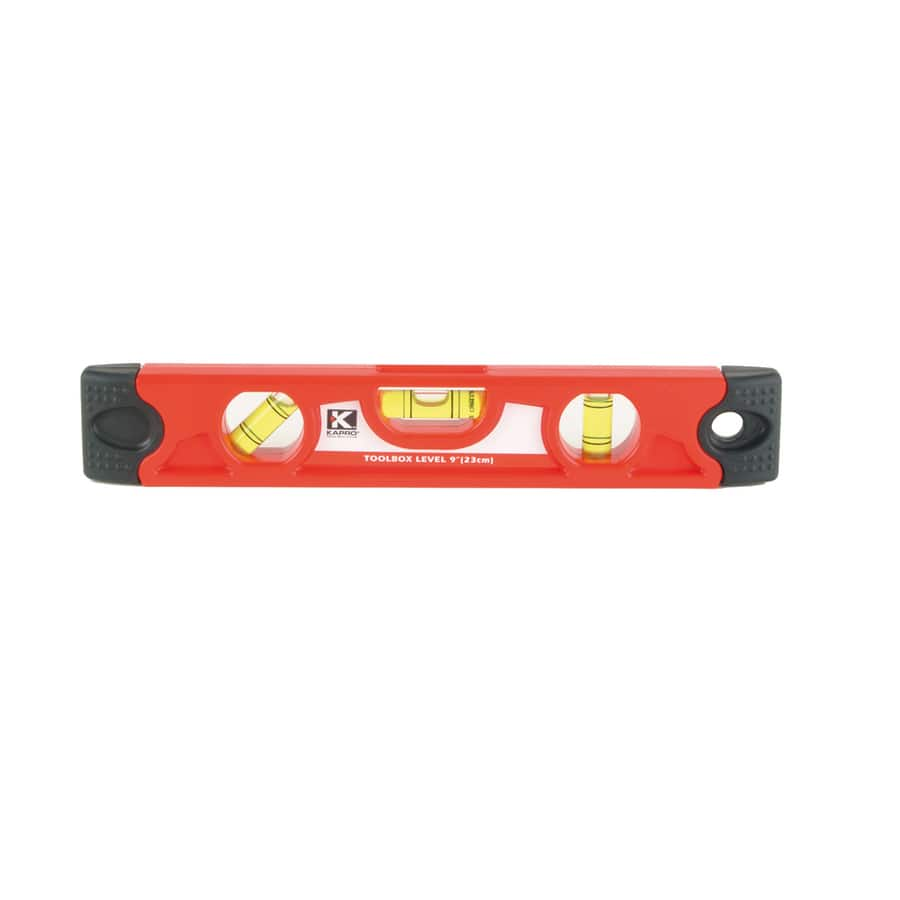 KAPRO 9-in Magnetic Torpedo Level Standard Level. $3.50 @ Lowes