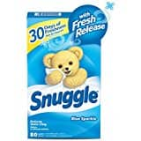 105 Count Snuggle Plus Super Fresh Fabric Softener Dryer Sheets with Static Control and Odor Eliminating Technology. $3.77 W/S&S + FS/WPrime