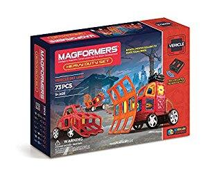 MAGFORMERS R/C Heavy Duty Vehicles Set. $83.90 Shipped