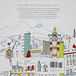 Splendid Cities: Color Your Way to Calm. $3.53 + FS w/Prime