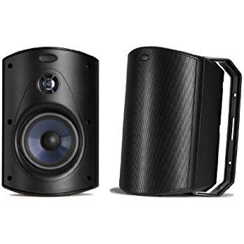 Polk Audio Atrium 4 Outdoor Speakers (Pair, White or Black) $79.95 Shipped