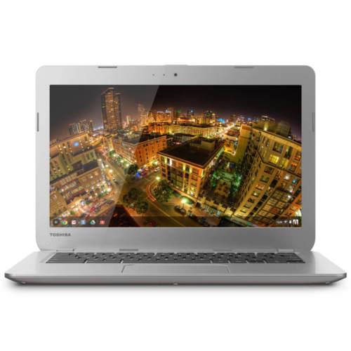 "Toshiba 13.3"" Chromebook Intel Celeron Dual Core 1.4GHz 2GB 16GB SSD. (Refurbished) $119.95 + FS (eBay Daily Deal)"