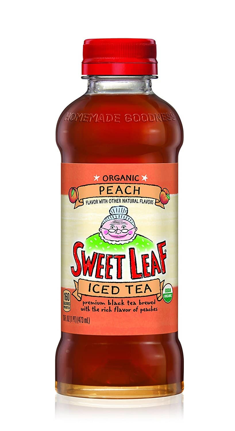 Pack Of 12 Sweet Leaf USDA-Certified Organic Iced Tea (Peach). $5.03 Amazon Prime Pantry (Also Buy 5 Get $6 back)