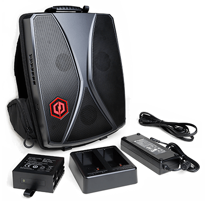 Black Friday Special: CyberPower Tracer VR Backpack Gaming Laptop: Intel i7-6700HQ 2.6GHz, Nvidia GTX 1070, 16GB DDR4, 256 SSD. Win10 +  Free CyberPowerPC Mystery Loot Chest $1185