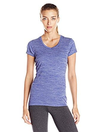 Spalding Women's Melange Colorblock Tee (Tons of colors and sizes) From $3  (Add-on)