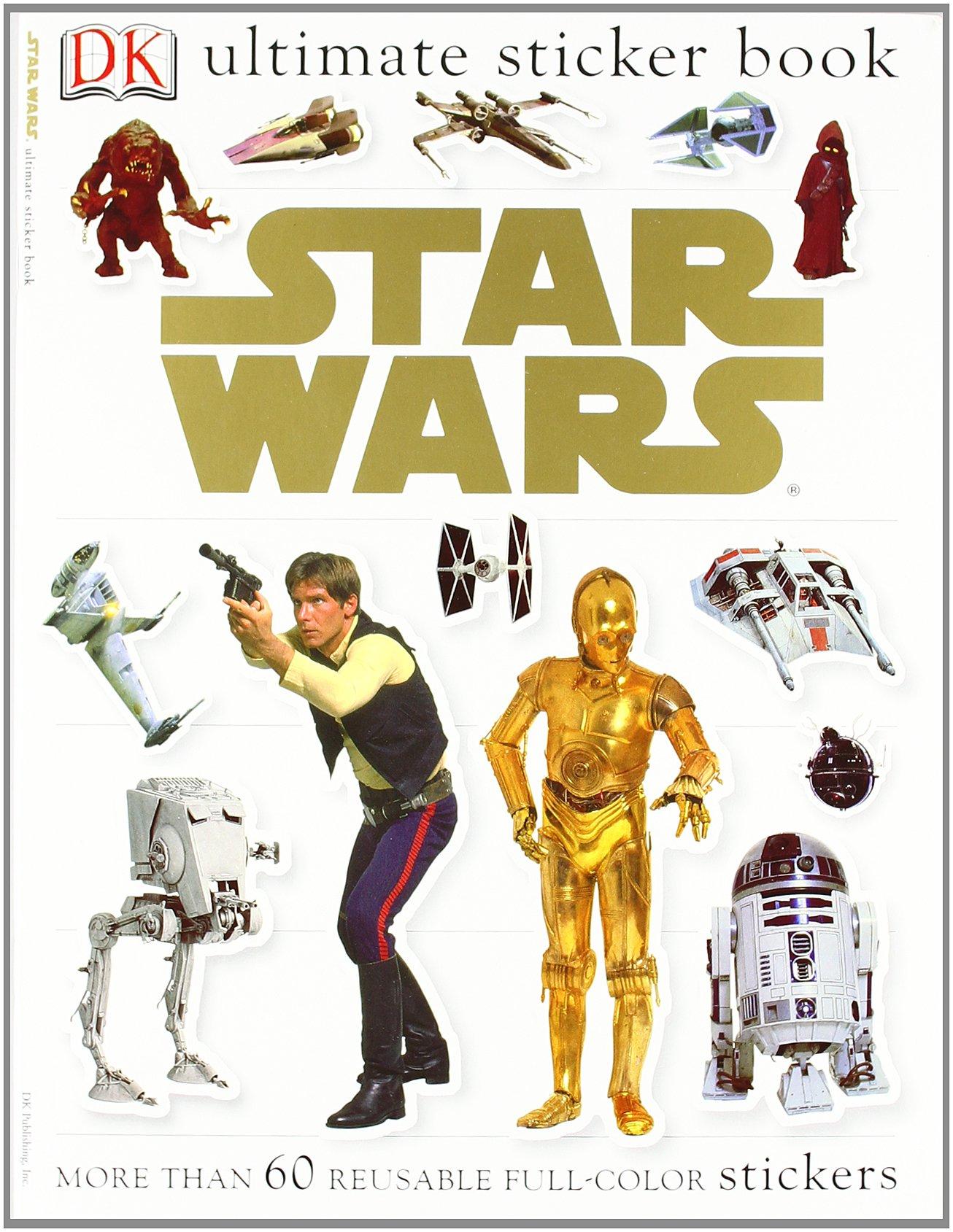 Ultimate Sticker Book: Star Wars (Paperback) $3.85 + FS w/Prime