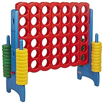 ECR4Kids Jumbo 4-To-Score Oversized Game for Kids and Adults $165  + FS