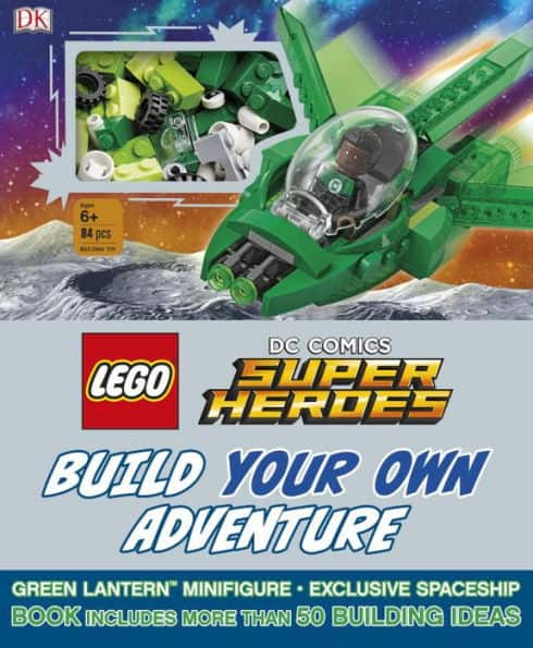 LEGO DC Comics Super Heroes Build Your Own Adventure (Hardcove) $8.77 + FS w/Prime