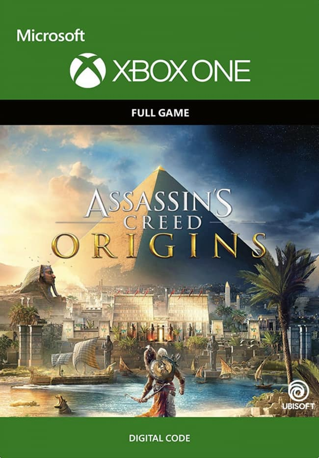 Assassins Creed Origins XBOX One + Assassin's Creed Unity XBOX One = $37.49 Or Less