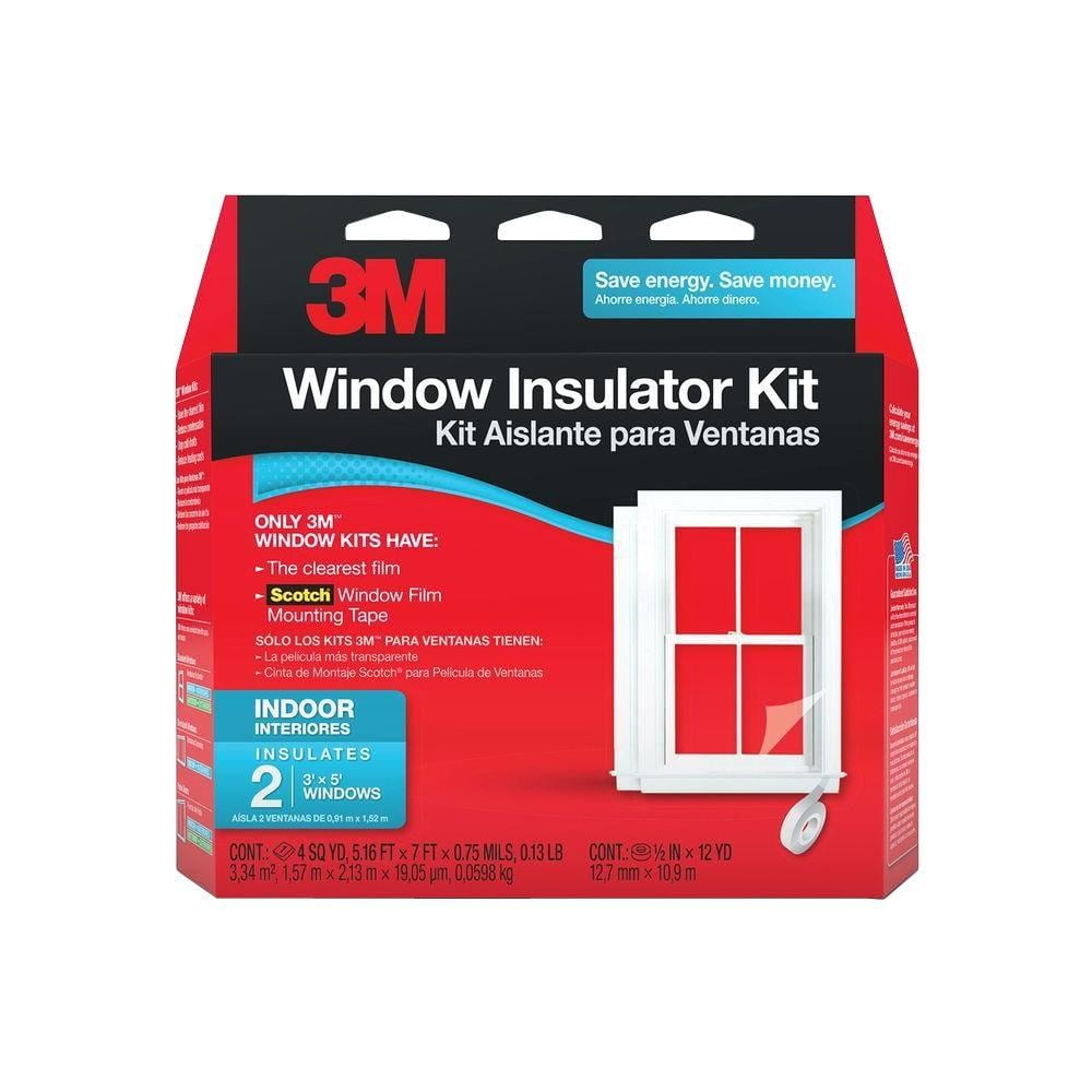 2-Window 3M Indoor Insulator Kit. $4.98 + FS w/Prime OR HomeDepot Pickup