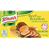 Pack of 144 Knorr Cube Bouillon, Beef 2.3 oz. 18.47 Or Less  With S&S
