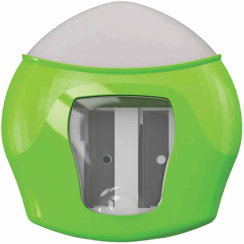 Write Dudes Scribble Stuff 2-Hole Pencil Sharpener with Eraser $1 + Free Shipping