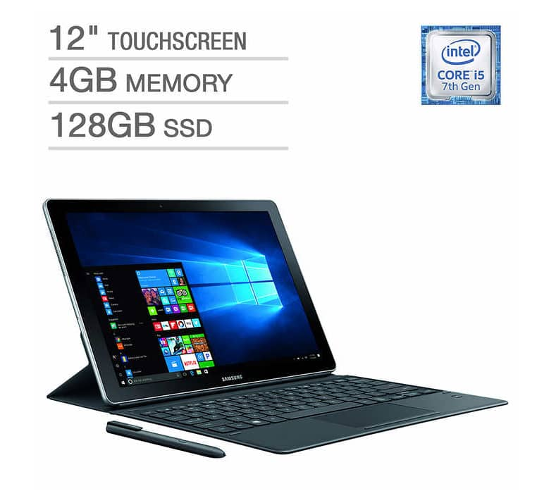 "Samsung Galaxy Book 12"" 2 in 1 Laptop - Intel Core i5 - 2160 x 1440 Display + S-Pen. $699.99 + FS"