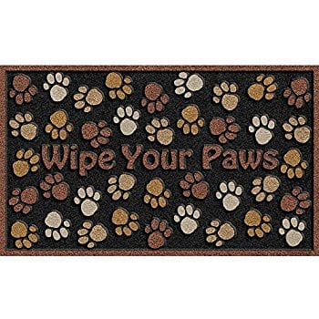 CleanScrape Deluxe Wipe Your Paws Door Mat, Brown, 18-Inch by 30-Inch. $11.15 + FS w/ Prime
