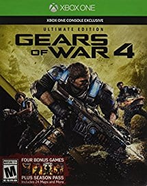 Gears of War 4: Ultimate Edition (Includes SteelBook with Physical Disc + Season Pass + Early Access) - Xbox One $29.99