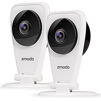 2-Pack Zmodo EZCam 720p HD Wi-Fi Wireless Security Surveillance IP Camera System with Night Vision - Cloud Service available. $45 + FS
