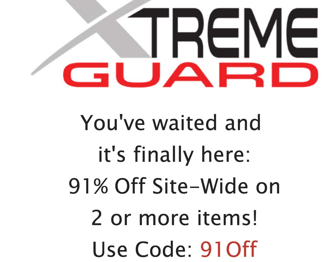 Xtremeguard - 91% Off Site-Wide on 2 or more items!