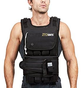 ZFOsports 40LBs Adjustable Weighted Vest $57.49 (Amazon)