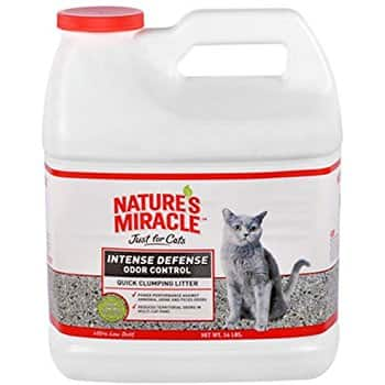 14 Pounds Nature's Miracle Intense Defense Clumping Litter. $6.64 Or Less With S&S + FS w/ Prime