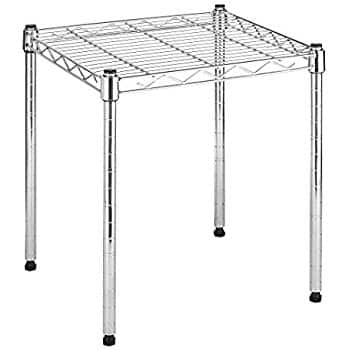 Whitmor Supreme Stacking Shelf (Chrome) $10 via Amazon