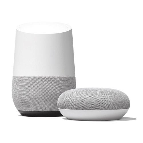 Google Home + Home-Mini (Chalk) $110 + FS (eBay daily Deal)