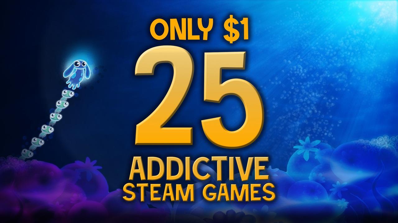 Dollar Jumbo Bundle: 25 Games for $1 @ Fanatical