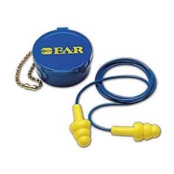 3M  Ultra Fit Reusable Corded Earplugs, OSFA, Blue, One Size Fits All. $1.69 + FS via Amazon