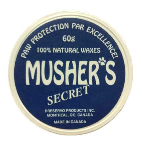 Musher's Secret 60gr - Natural Paw Protection for Your Dog by Dog Like Nature [Pet Supplies]. $3.83 + FS Amazon