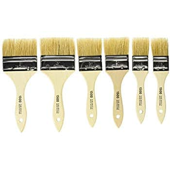 Set of 6 Linzer A 1506 Chip / Flat Paint Brushes. $3.88 + FS w/Prime