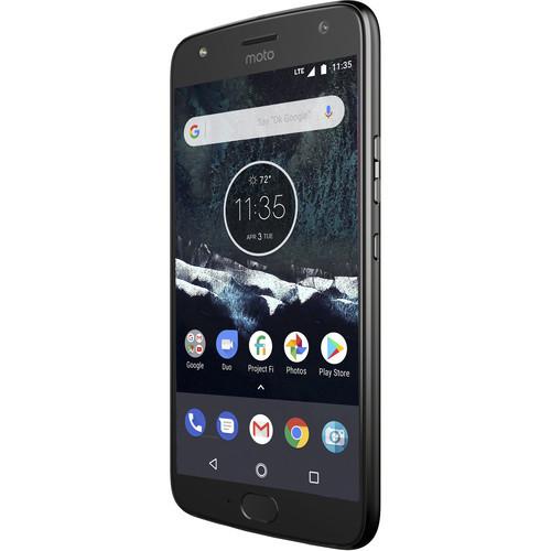Moto X4 XT1900-1 64GB Smartphone (Unlocked, Android One, Super Black) + Mint Mobile 3-Month 8GB Prepaid SIM Card Kit. $199.99 @ BHPhoto