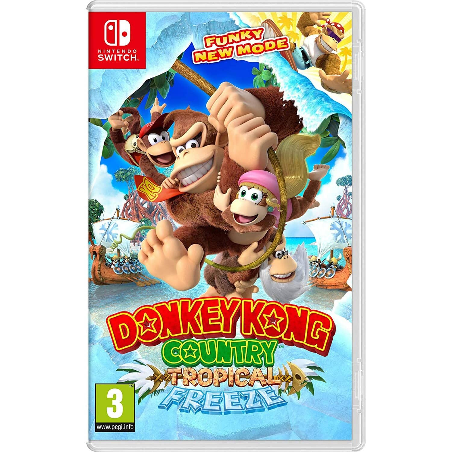 Nintendo Switch  Mario Kart 8 Deluxe (Region Free) $42.50, Donkey Kong Tropical Freeze $41.65 & More