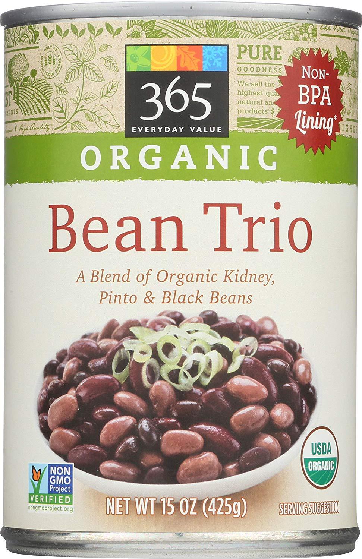 365 Everyday Value Organic Bean Trio (15Oz) $0.99 at Amazon