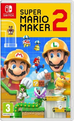 Super Mario Maker 2 - Nintendo Switch. $44.99 + FS (eBay Daily Deal)