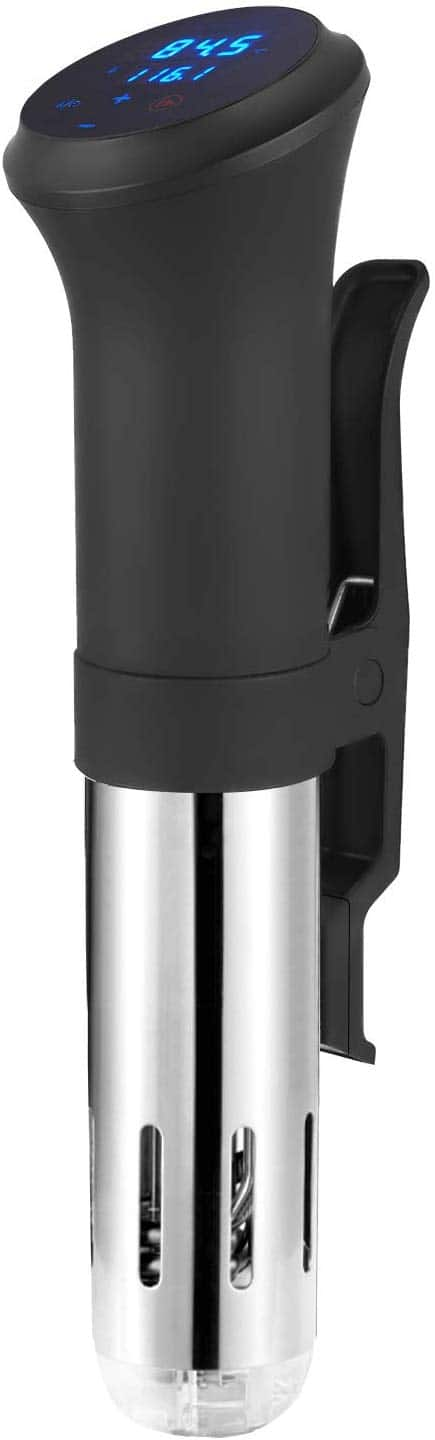 Homevolts Sous Vide Cooker with Temperature Control and Immersion Circulator. $27 at Amazon