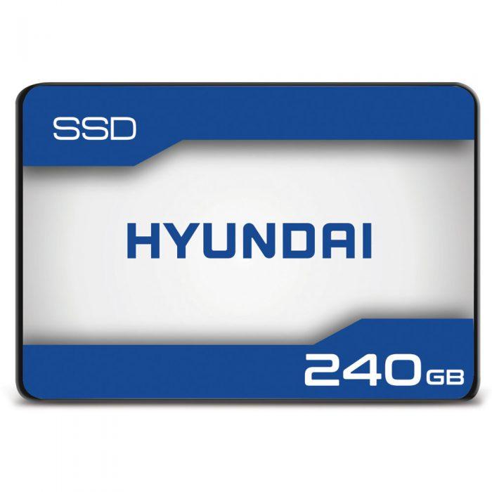 """Hyundai 240GB Internal Solid State Drive 2.5""""- SATA(SATA/600)  $26.99 at Walmart"""