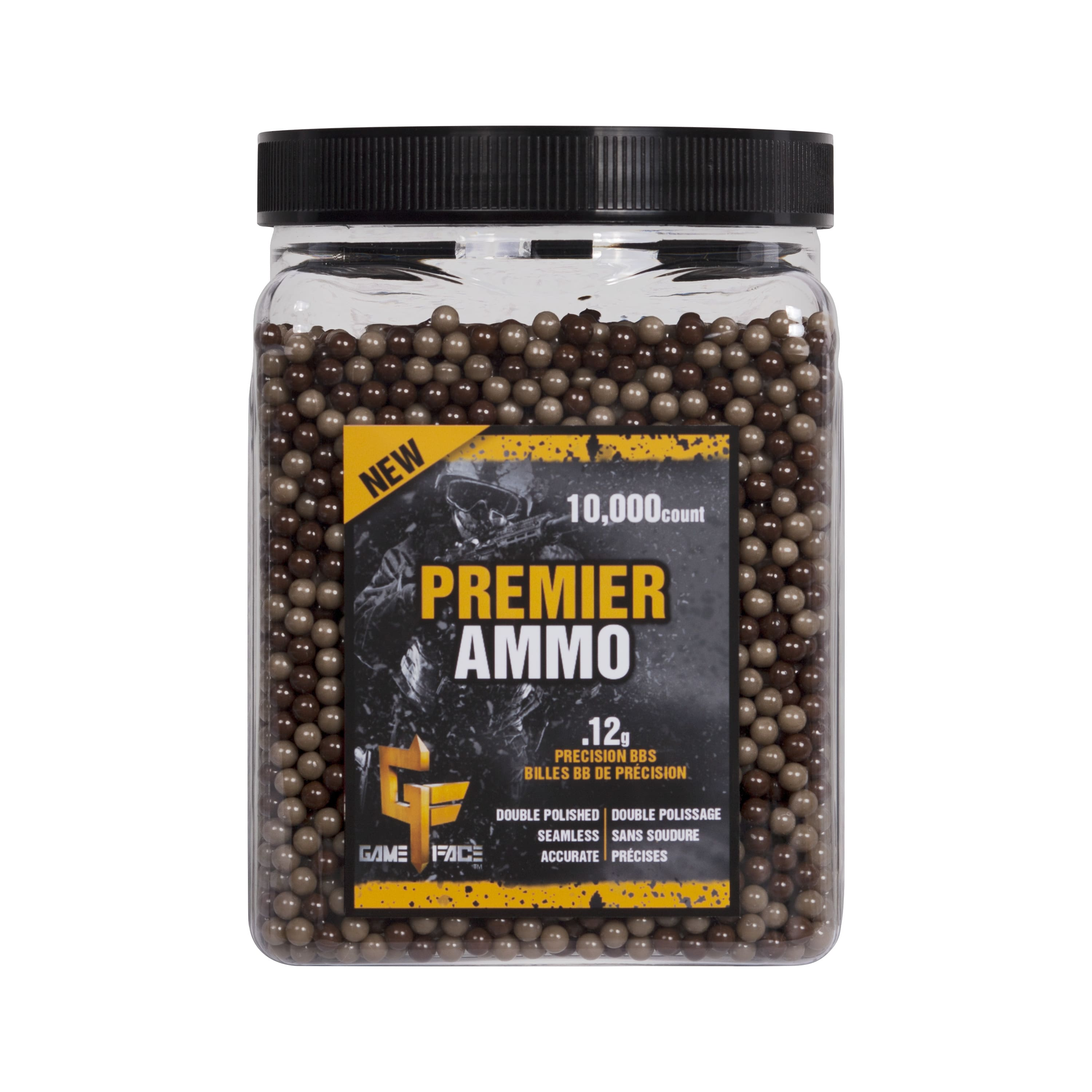 Gameface Camo Airsoft BBs by Crosman 12gr ammo (10,000 count) $2.08 at Walmart (Reg.$20)