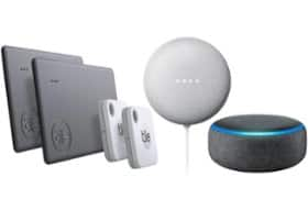 Buy Select Tile Product, Get Free Smart Speaker (Google Nest Mini or Amazon Echo Dot) From $59.99 + FS at Best Buy
