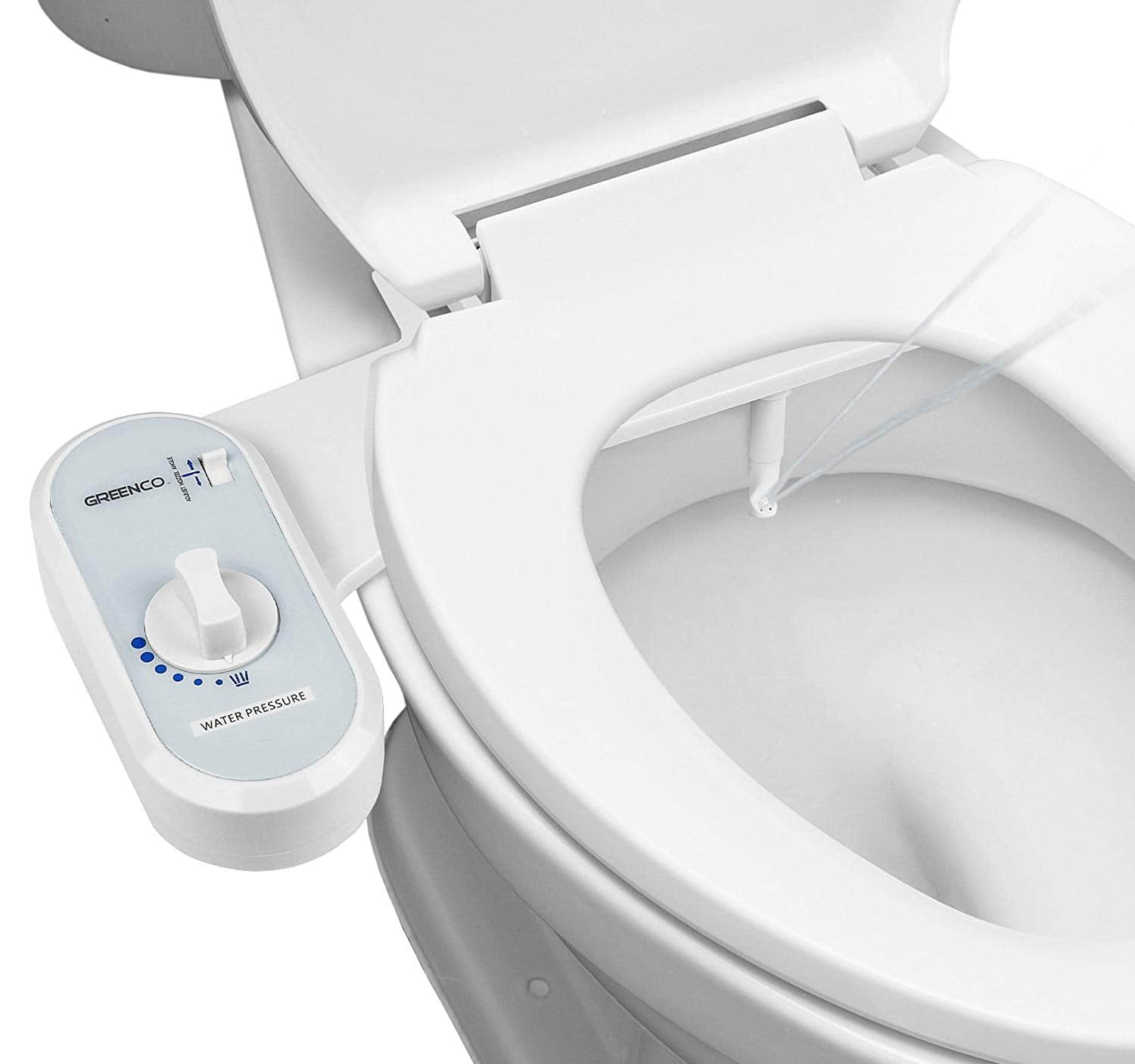 Greenco Bidet Fresh Water Spray Non-Electric Mechanical Bidet Toilet Seat Attachment $17.99 (Amazon)