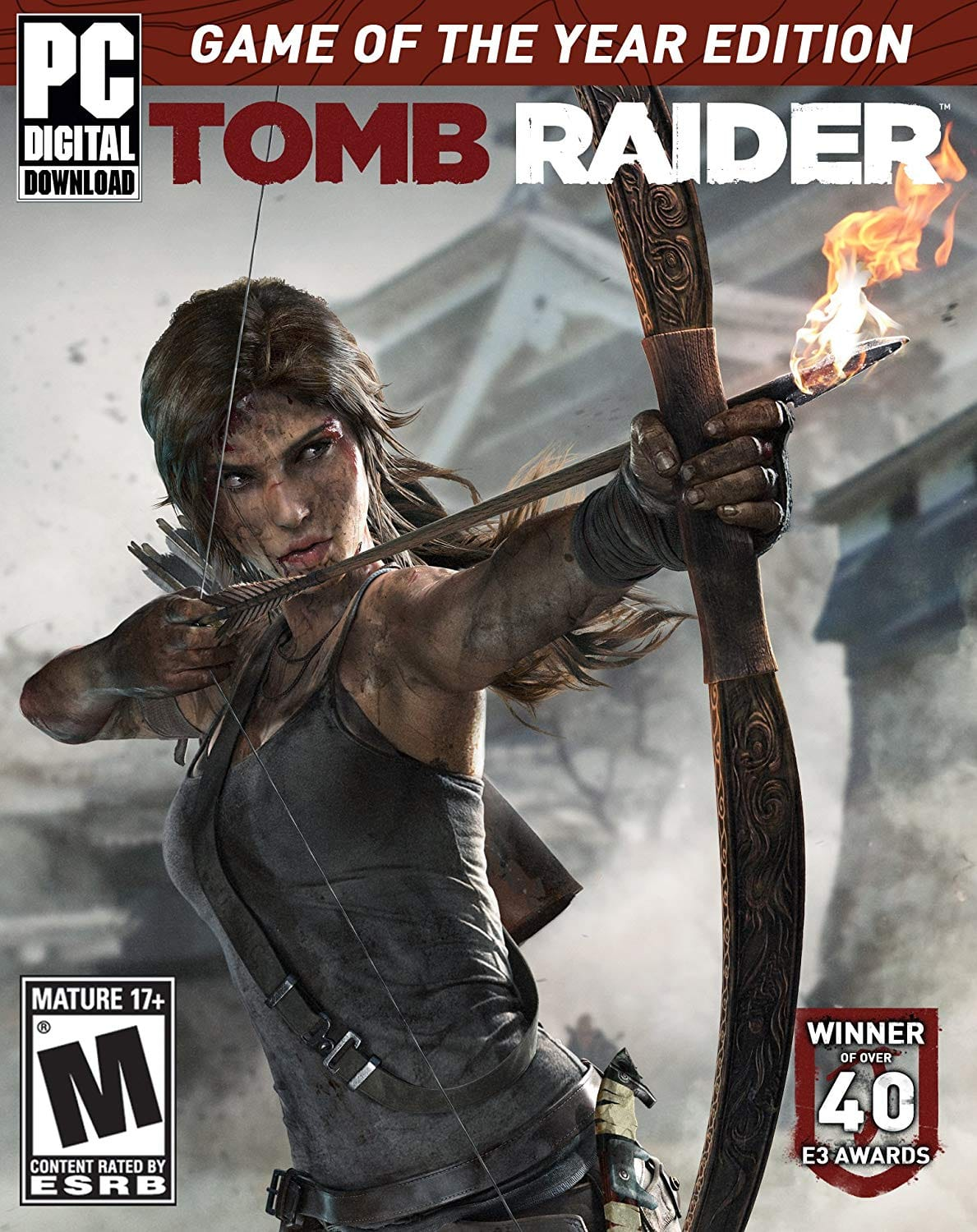Tomb Raider Game of the Year Edition (PC Digital Download) $4.50 (Amazon)