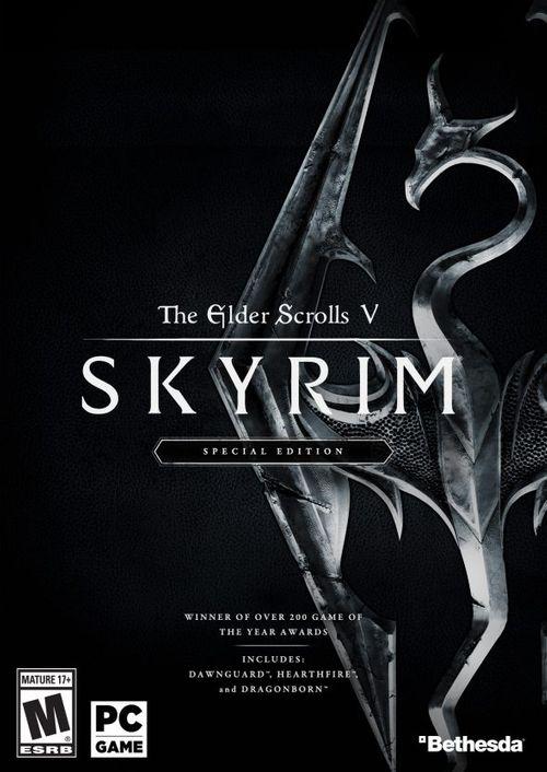 The Elder Scrolls 5 Skyrim Special Edition (PC Digital Download) $8.59
