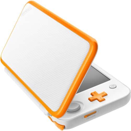 Nintendo 2DS XL (White + Orange, Latest Model)  - Refurbished by Nintedo + Warranty $100 (eBay Daily Deal)