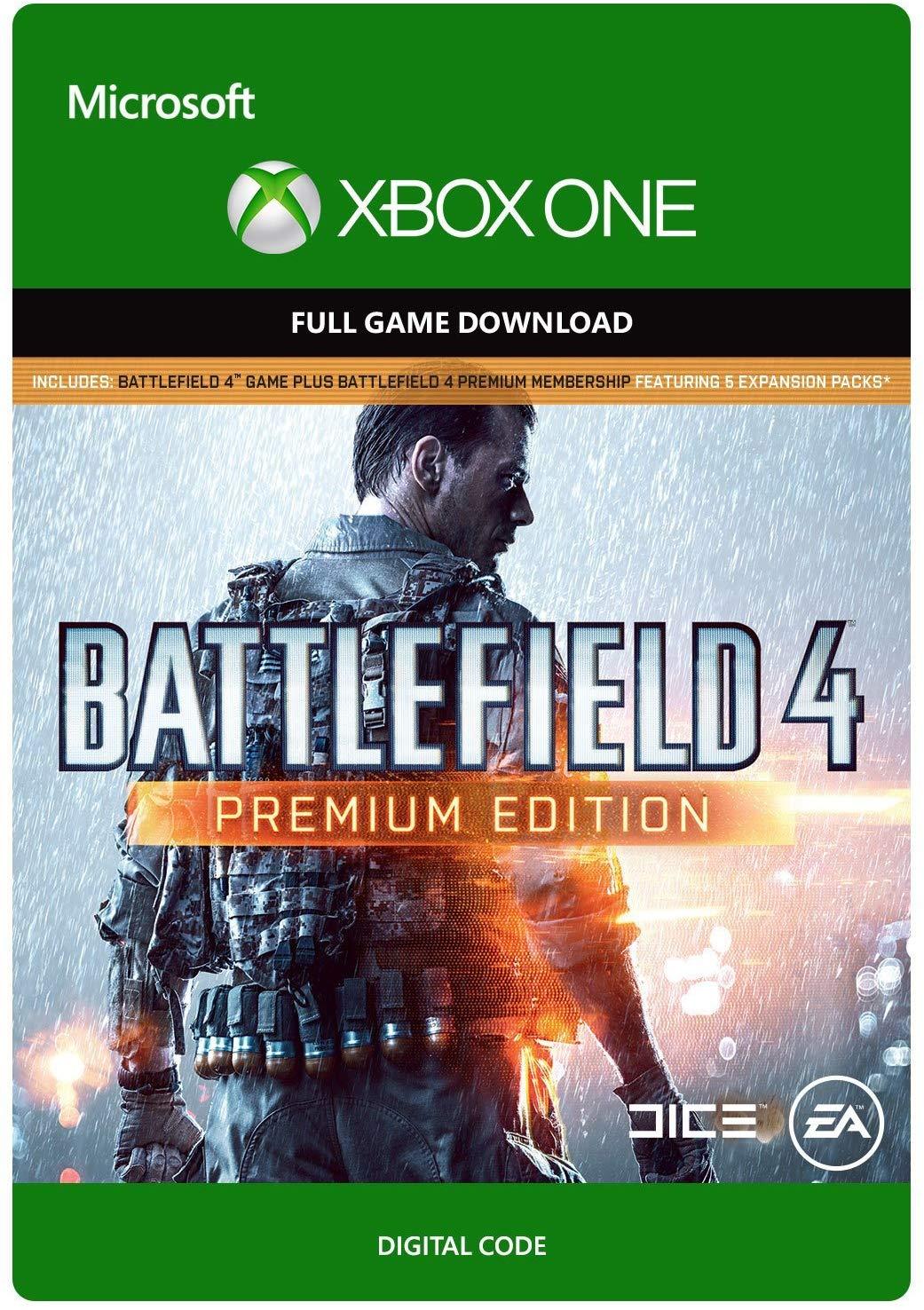 Battlefield 4: Premium Edition - Xbox One Digital Code. $10 @ Amazon