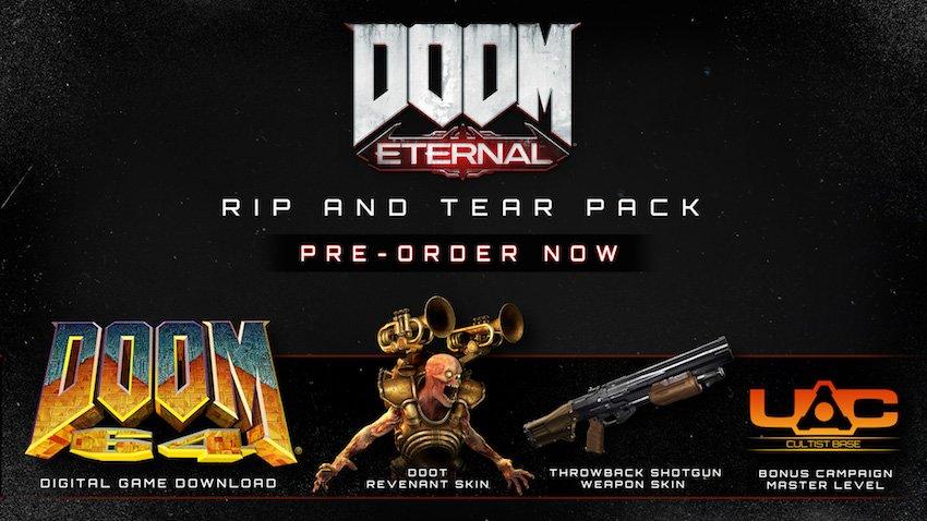 DOOM Eternal (PC Digital Download) Pre-order. $47.99 @ GMG