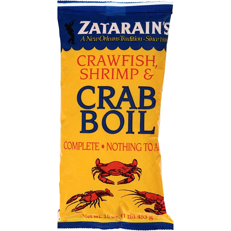 16 oz. Zatarain's Crawfish, Shrimp & Crab Boil, $1.57 @ Amazon