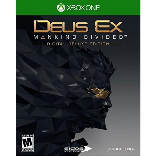 Deus Ex: Mankind Divided - Deluxe Edition - Xbox One Digital Code $6.75 + Season Pass $3.00 @ Amazon