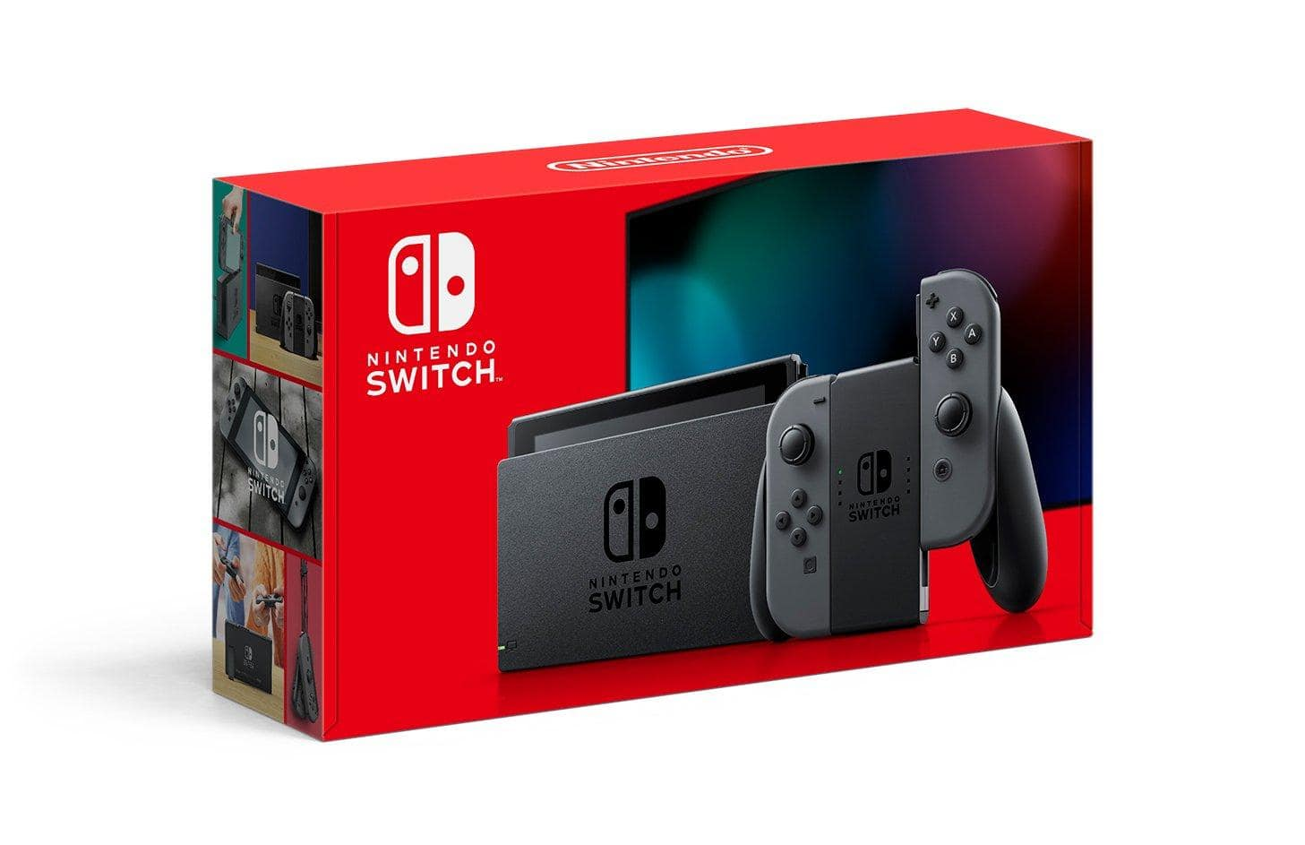 Nintendo Switch with Neon Joy-Cons / Grey System Basics Bundle - Ships by 4/30 @ More $395 @ Gamestop