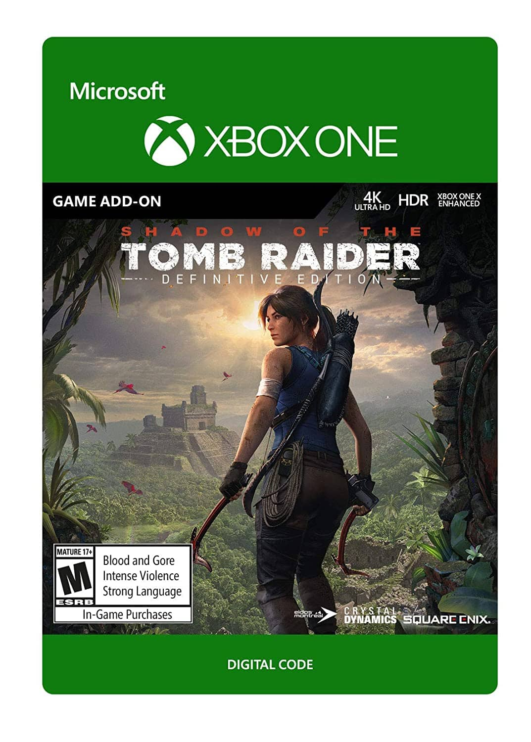 Shadow of the Tomb Raider: Definitive Edition Extra Content - [Xbox One Digital Code] $6.60 @ Amazon