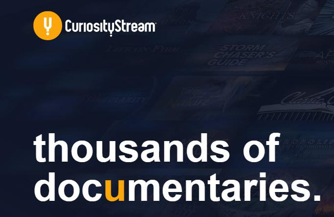40% Off Documentary Streaming Service Curiositystream with Code stayin40 ($11.99 / Year HD Stream, $41.99 / Year 4K Stream)