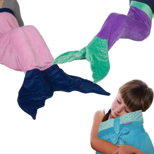 The Original Comfy Tail Mermaid Blanket – Soft Plush Fleece For $9.99 + Free Shipping @ Dealgenius.com