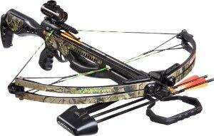Barnett Jackal Crossbow Package (Quiver, 3 - 20-Inch Arrows and Premium Red Dot Sight) For $175.98